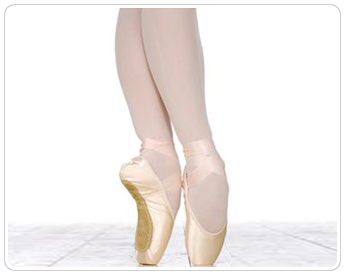 Beige Ballet Shoes